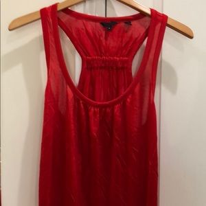 Ted Baker silky red tank top